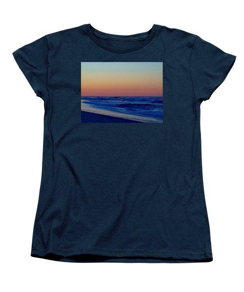 Women's T-Shirt (Standard Cut) featuring the photograph Sea View by  Newwwman