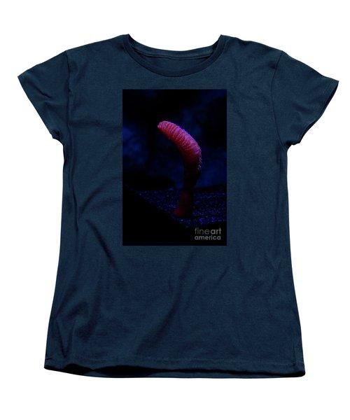 Women's T-Shirt (Standard Cut) featuring the photograph Sea Worm by Xn Tyler