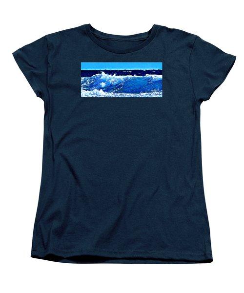Sea Women's T-Shirt (Standard Cut) by Zedi