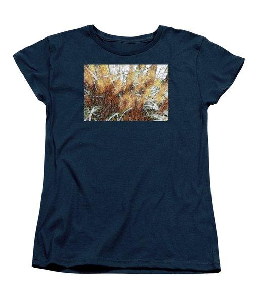 Seagrass Women's T-Shirt (Standard Cut) by Judy Palkimas