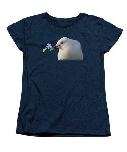 Seagull Women's T-Shirt (Standard Cut) by Ivana Westin