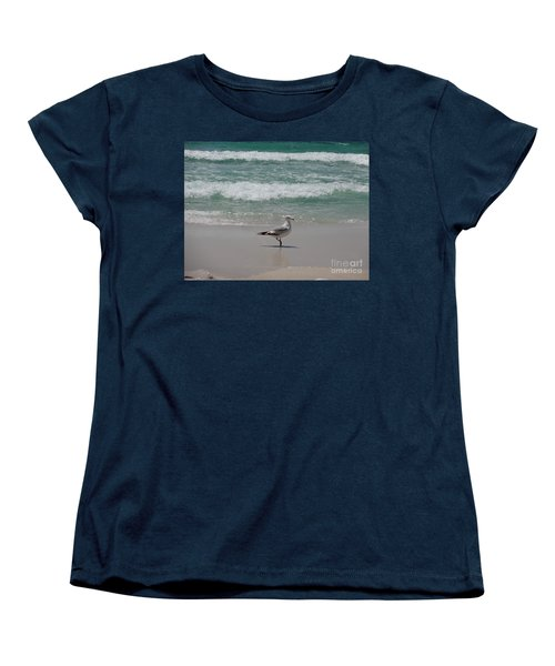 Seagull Women's T-Shirt (Standard Cut) by Megan Cohen