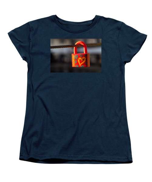Sealed Love Women's T-Shirt (Standard Cut) by Davorin Mance