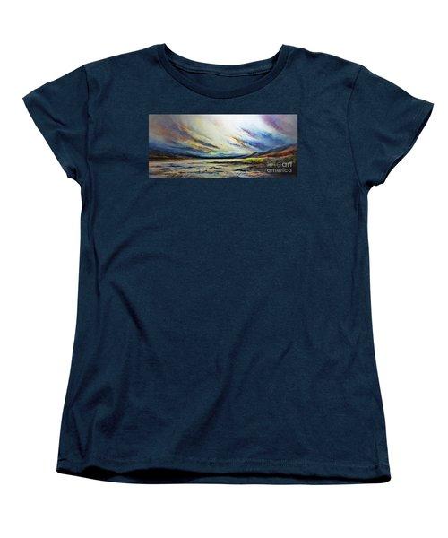 Seaside Women's T-Shirt (Standard Cut) by AmaS Art