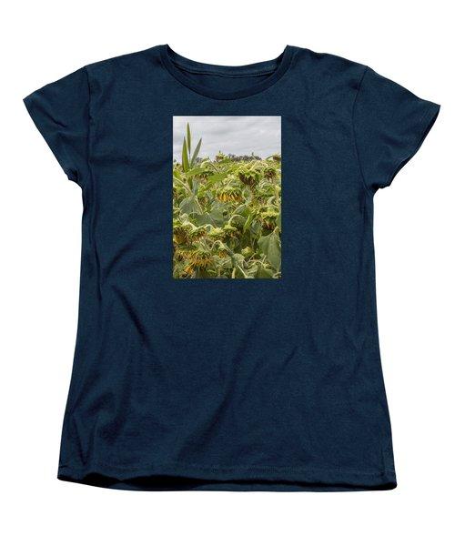 Season's End Women's T-Shirt (Standard Cut) by Arlene Carmel