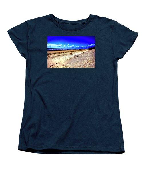Women's T-Shirt (Standard Cut) featuring the photograph Seat For One by Douglas Barnard
