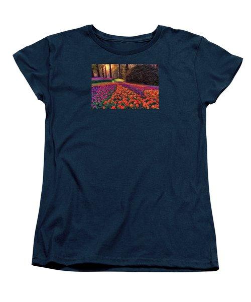 Secret Garden Women's T-Shirt (Standard Cut) by Nadia Sanowar