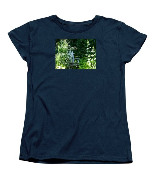 Secret Garden Women's T-Shirt (Standard Cut) by Tina M Wenger