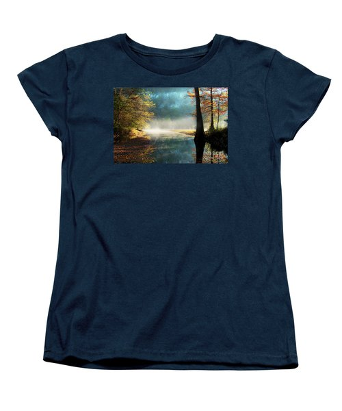 Secret Hideaway Women's T-Shirt (Standard Cut) by Tamyra Ayles