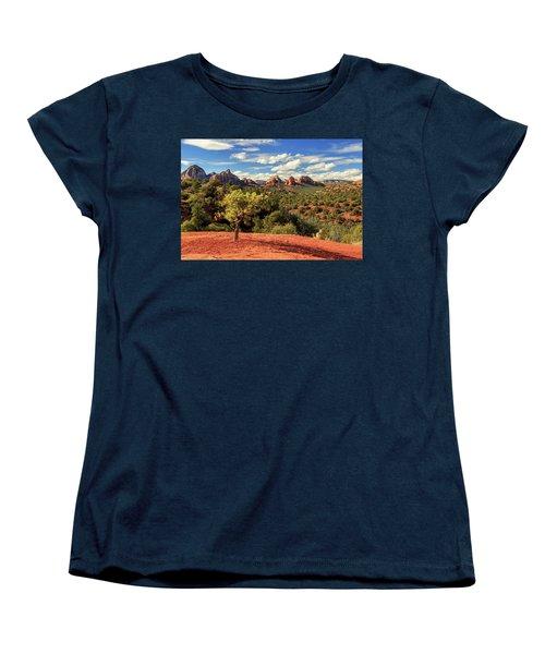 Sedona Afternoon Women's T-Shirt (Standard Cut) by James Eddy