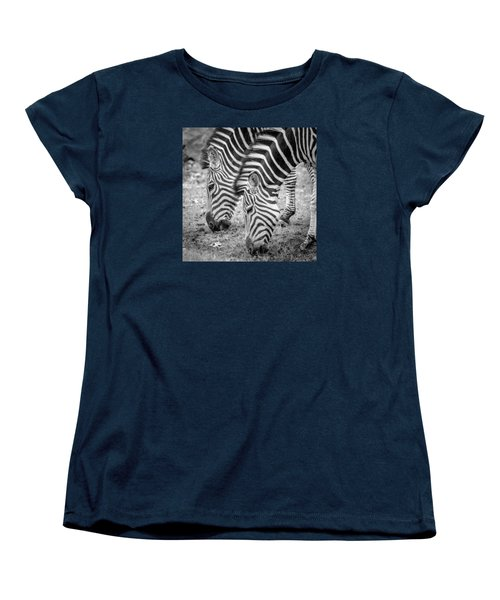 Women's T-Shirt (Standard Cut) featuring the photograph Seeing Double by Wade Brooks