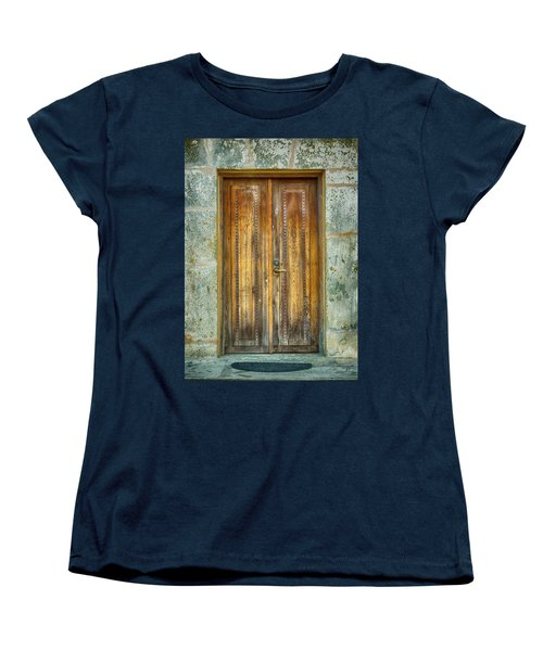 Women's T-Shirt (Standard Cut) featuring the photograph Seeking Sanctuary - 1 by Stephen Stookey