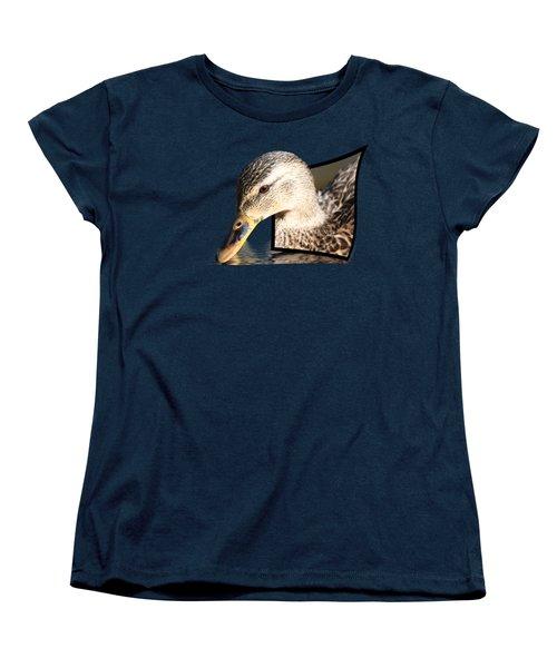 Seeking Water Women's T-Shirt (Standard Cut) by Shane Bechler