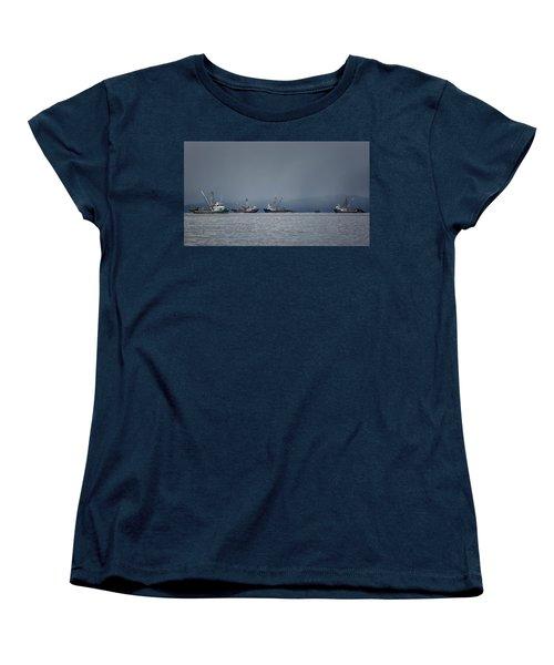 Seiners Off Mistaken Island Women's T-Shirt (Standard Cut) by Randy Hall