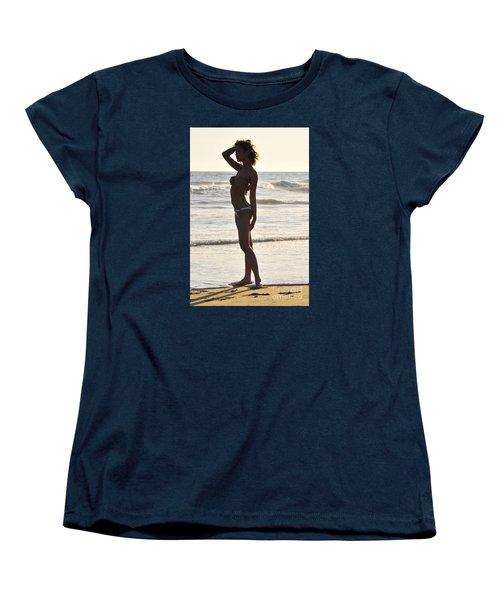 Self Reflecting Women's T-Shirt (Standard Cut) by Robert WK Clark