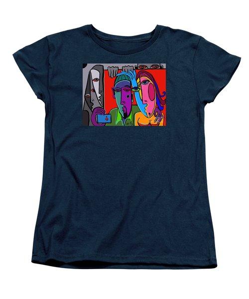 Selfie Women's T-Shirt (Standard Cut) by Hans Magden