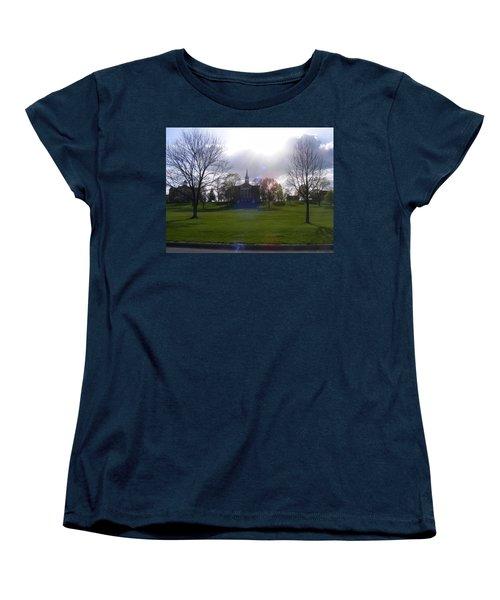 Seminary Ridge Women's T-Shirt (Standard Cut) by Adam Cornelison
