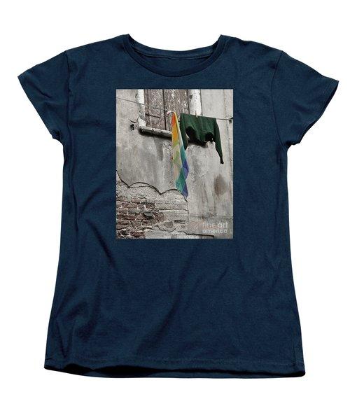 Semplicita - Venice Women's T-Shirt (Standard Cut) by Tom Cameron