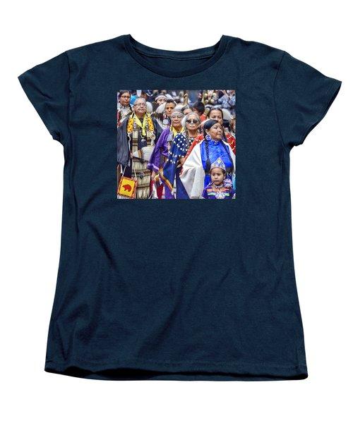Senior Traditional Women Women's T-Shirt (Standard Cut) by Clarice Lakota