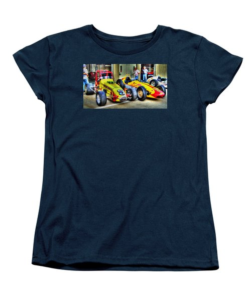 Separated At Birth Women's T-Shirt (Standard Cut) by Josh Williams