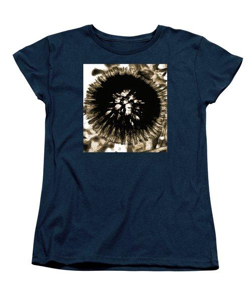 Sepia Dandelion Women's T-Shirt (Standard Cut)