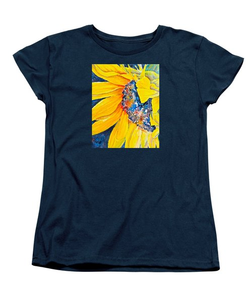 September Sunflower Women's T-Shirt (Standard Cut)