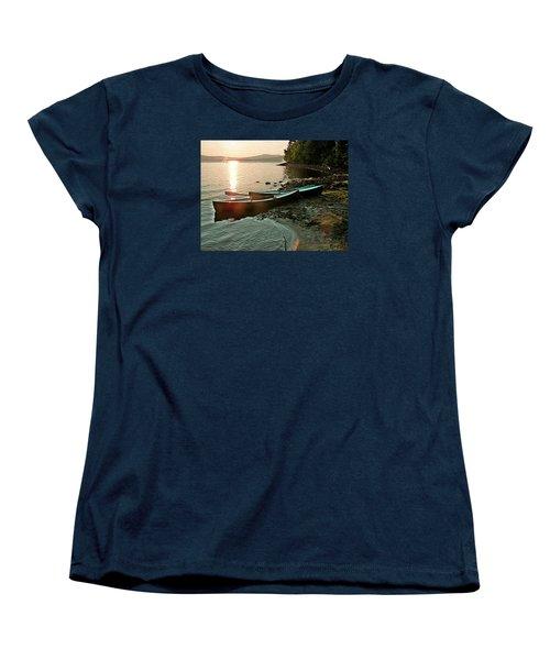 September Sunrise On Flagstaff Women's T-Shirt (Standard Cut) by Joy Nichols