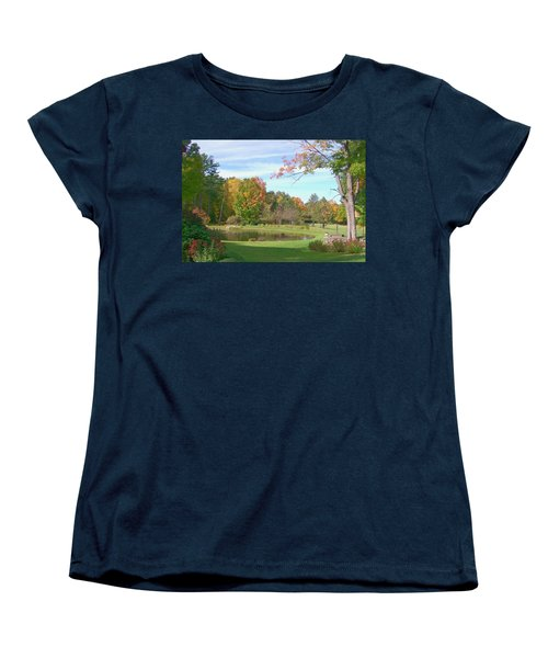 Women's T-Shirt (Standard Cut) featuring the digital art Serenity by Barbara S Nickerson