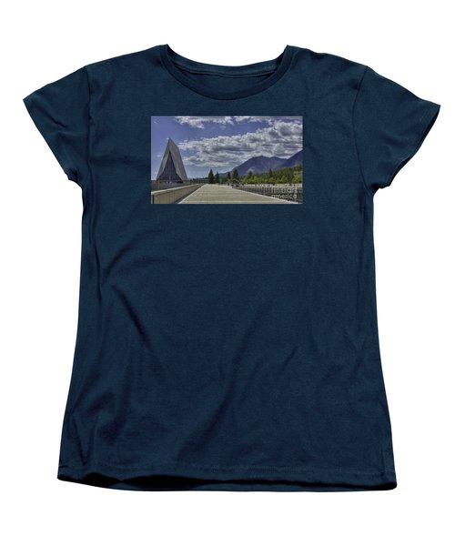 Seventeen Spires Women's T-Shirt (Standard Cut) by David Bearden