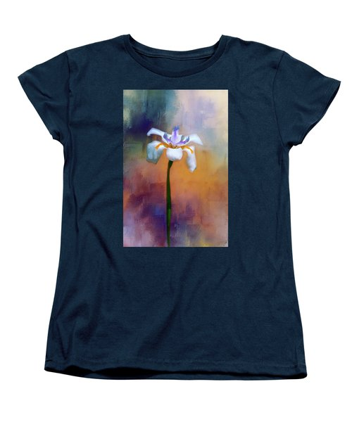 Women's T-Shirt (Standard Cut) featuring the photograph Shades Of Iris by Carolyn Marshall