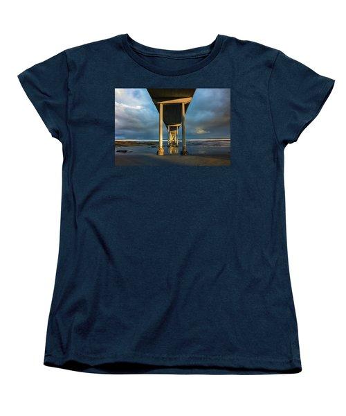Shadow And Light Women's T-Shirt (Standard Cut) by Joseph S Giacalone