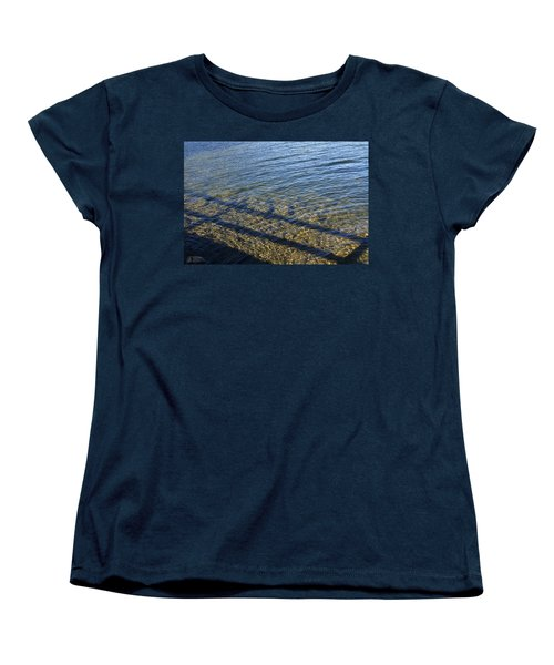 Women's T-Shirt (Standard Cut) featuring the photograph Shadow Play by Rhonda McDougall