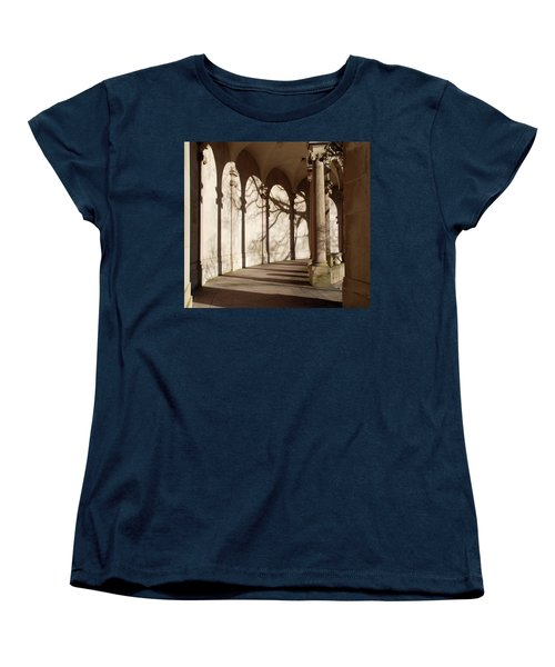 Women's T-Shirt (Standard Cut) featuring the photograph Shadows And Curves by Richard Bryce and Family