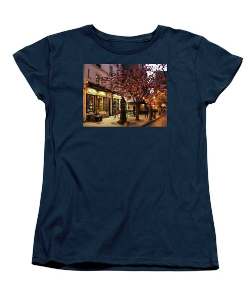 Women's T-Shirt (Standard Cut) featuring the photograph Shakespeare Book Shop 2 by Andrew Fare