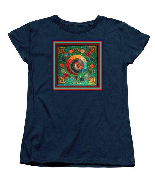 Shaman Serpent Ritual Women's T-Shirt (Standard Cut) by Vagabond Folk Art - Virginia Vivier