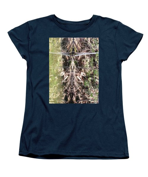 Shamanka Women's T-Shirt (Standard Cut) by Melissa Stoudt