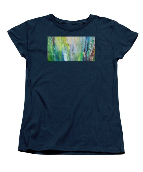Shapes And Colors Women's T-Shirt (Standard Cut) by Dan Whittemore