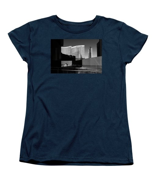 Shapes And Shadows 3720 Women's T-Shirt (Standard Cut) by Ricardo J Ruiz de Porras