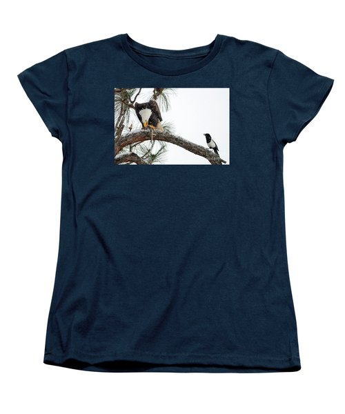 Share The Wealth Women's T-Shirt (Standard Cut) by Mike Dawson