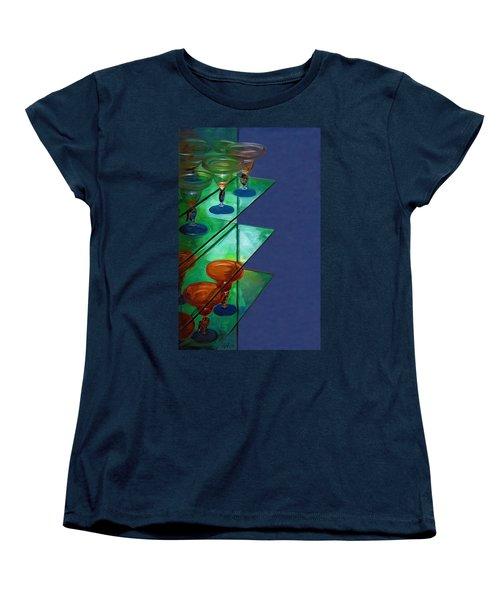 Women's T-Shirt (Standard Cut) featuring the digital art Sheilas Margaritas by Holly Ethan