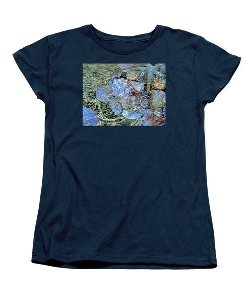 Shells Underwater 20 Women's T-Shirt (Standard Cut) by Lynda Lehmann