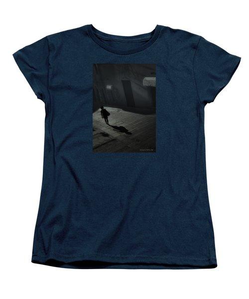 She's Leaving Home  Women's T-Shirt (Standard Cut) by Aleksander Rotner