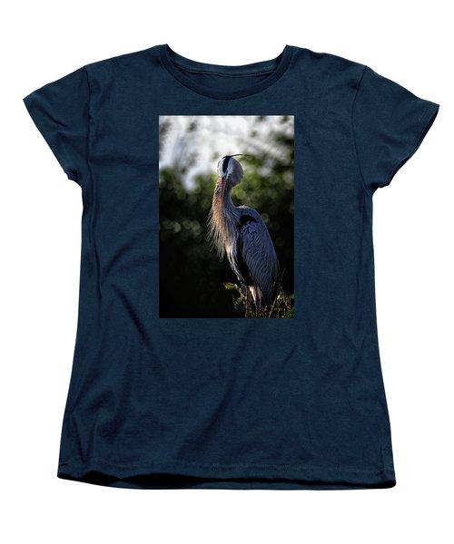 Shhhhh Women's T-Shirt (Standard Cut) by Cyndy Doty