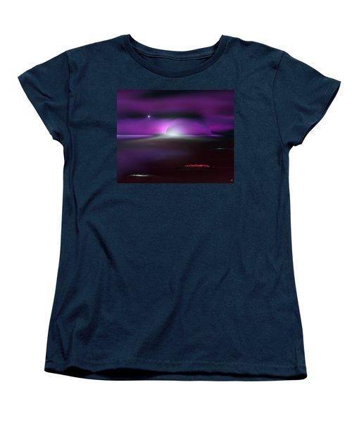 Shining Star Women's T-Shirt (Standard Cut) by Yul Olaivar