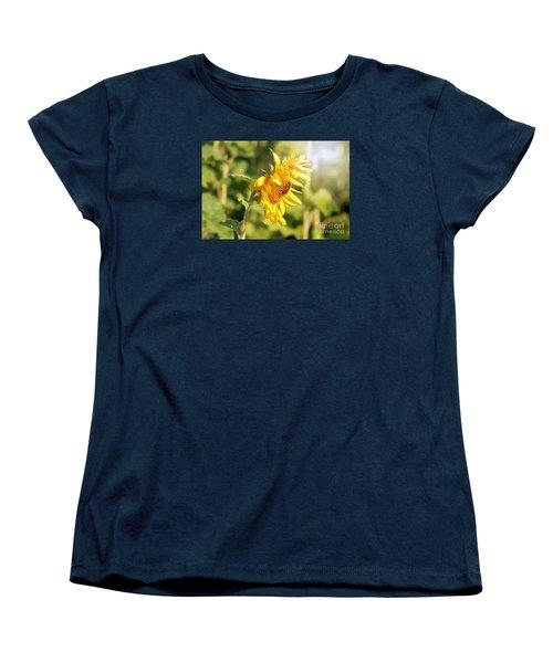 Shining Sun Women's T-Shirt (Standard Cut) by Lila Fisher-Wenzel