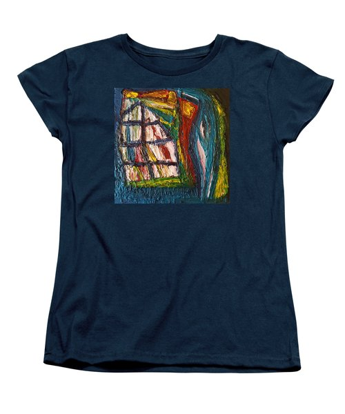Shipwrecked Women's T-Shirt (Standard Cut) by Darrell Black