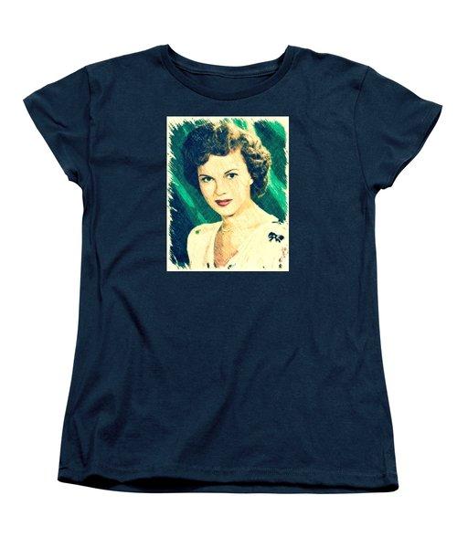 Shirley Temple By John Springfield Women's T-Shirt (Standard Cut) by John Springfield