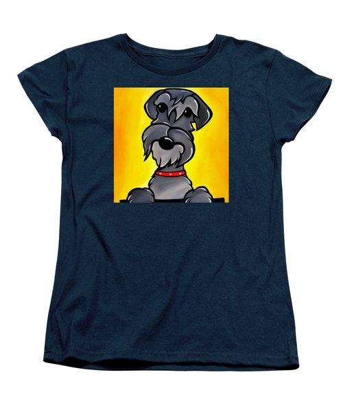 Shnoz Women's T-Shirt (Standard Cut) by Tom Fedro - Fidostudio