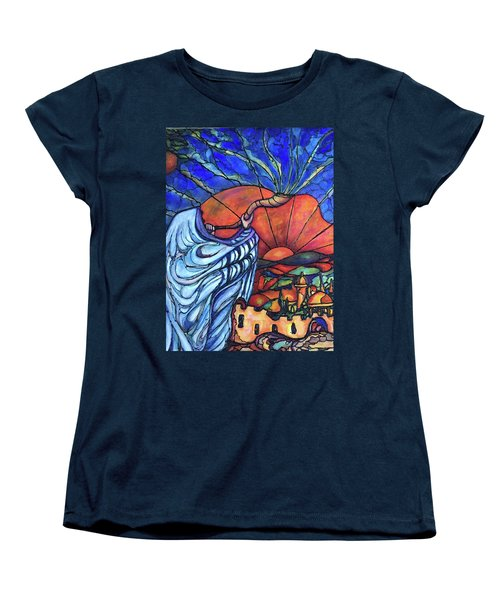 Shofar Women's T-Shirt (Standard Cut) by Rae Chichilnitsky