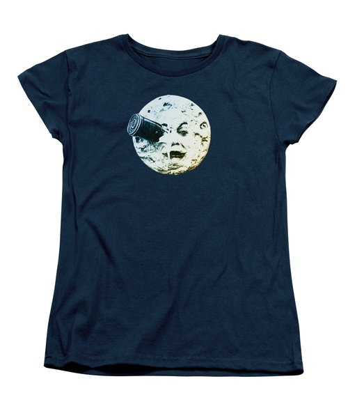 Shoot The Moon Women's T-Shirt (Standard Cut) by Bill Cannon